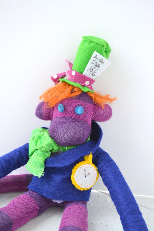 The Mad Hatter on Behance in 2020 | Alpha art, Mad hatter  |Monkeys Mad Hatter