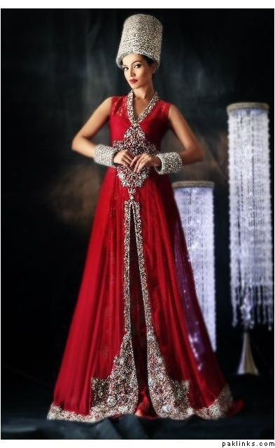 2 Red Color 2017 Stani Maxi Style Wedding Wear