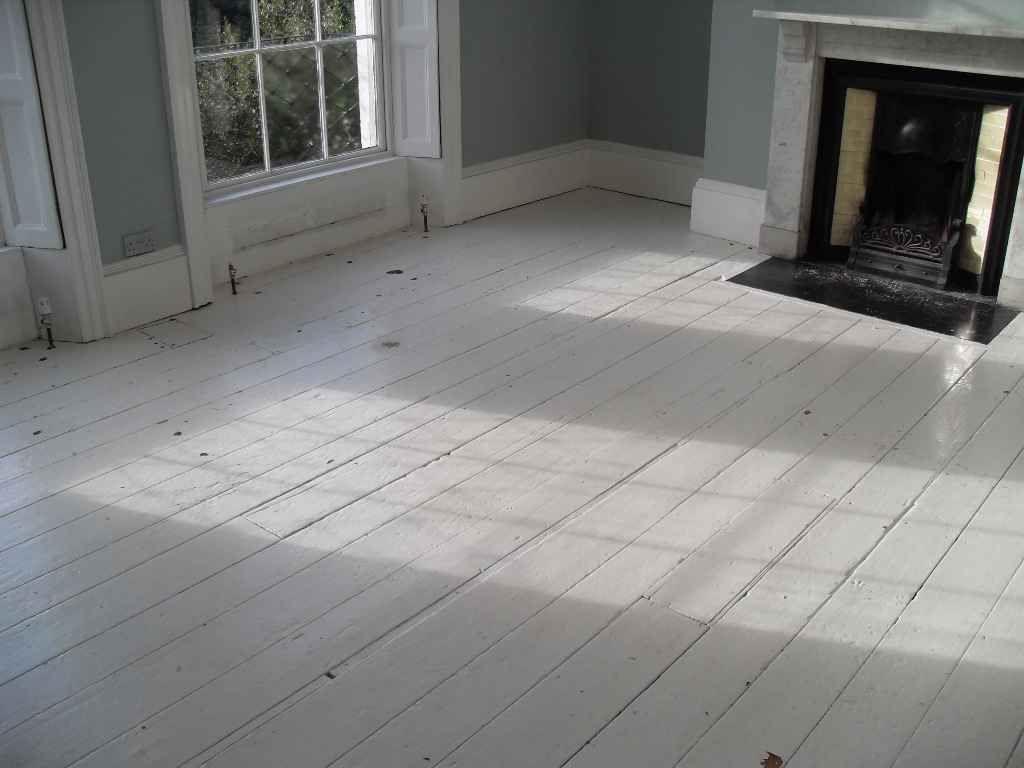 White Wood Floors White Wood Floors Painted Hardwood Floors
