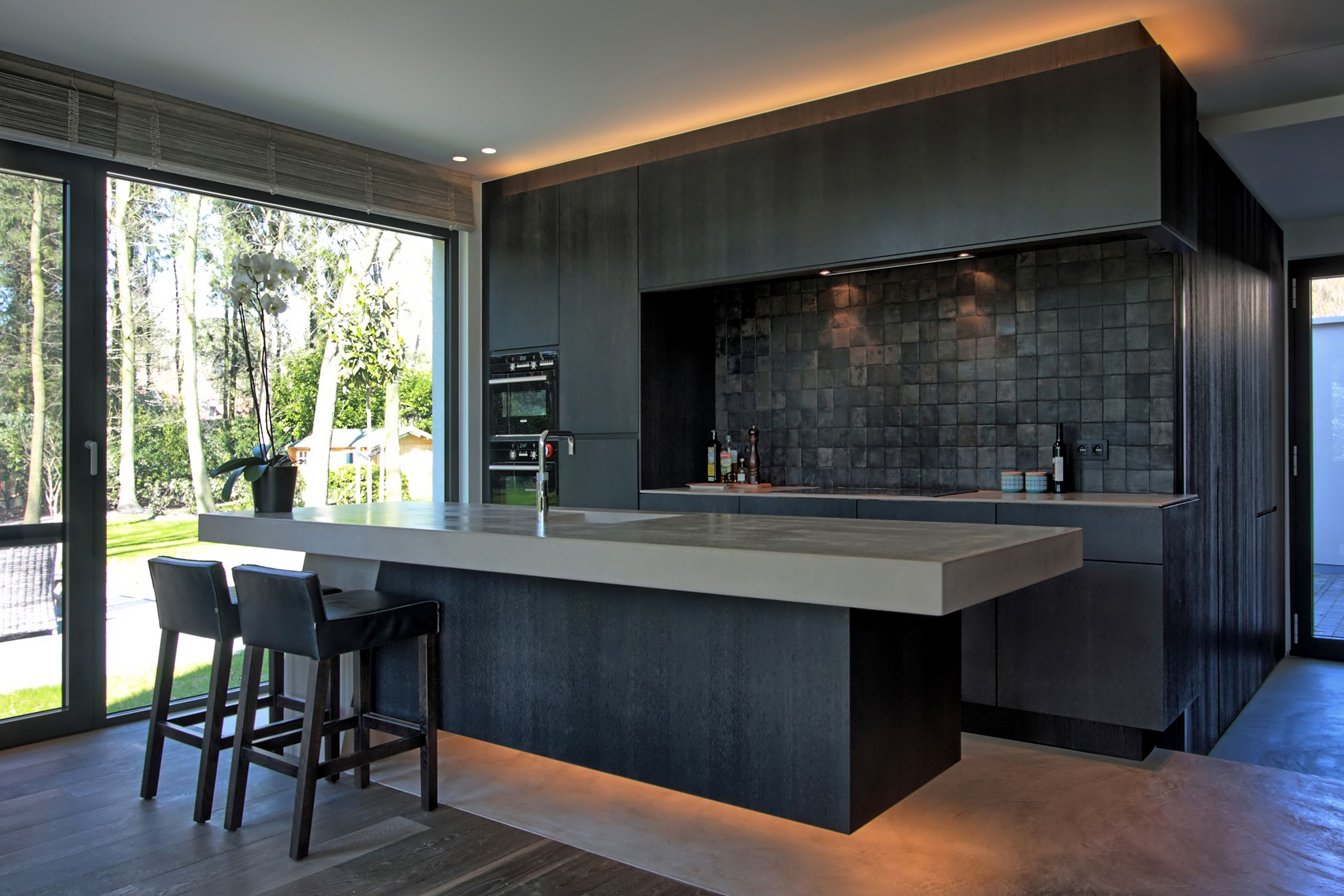 Villabouw Sels Interior Design Kitchen Small Modern Kitchen Design Kitchen Designs Layout