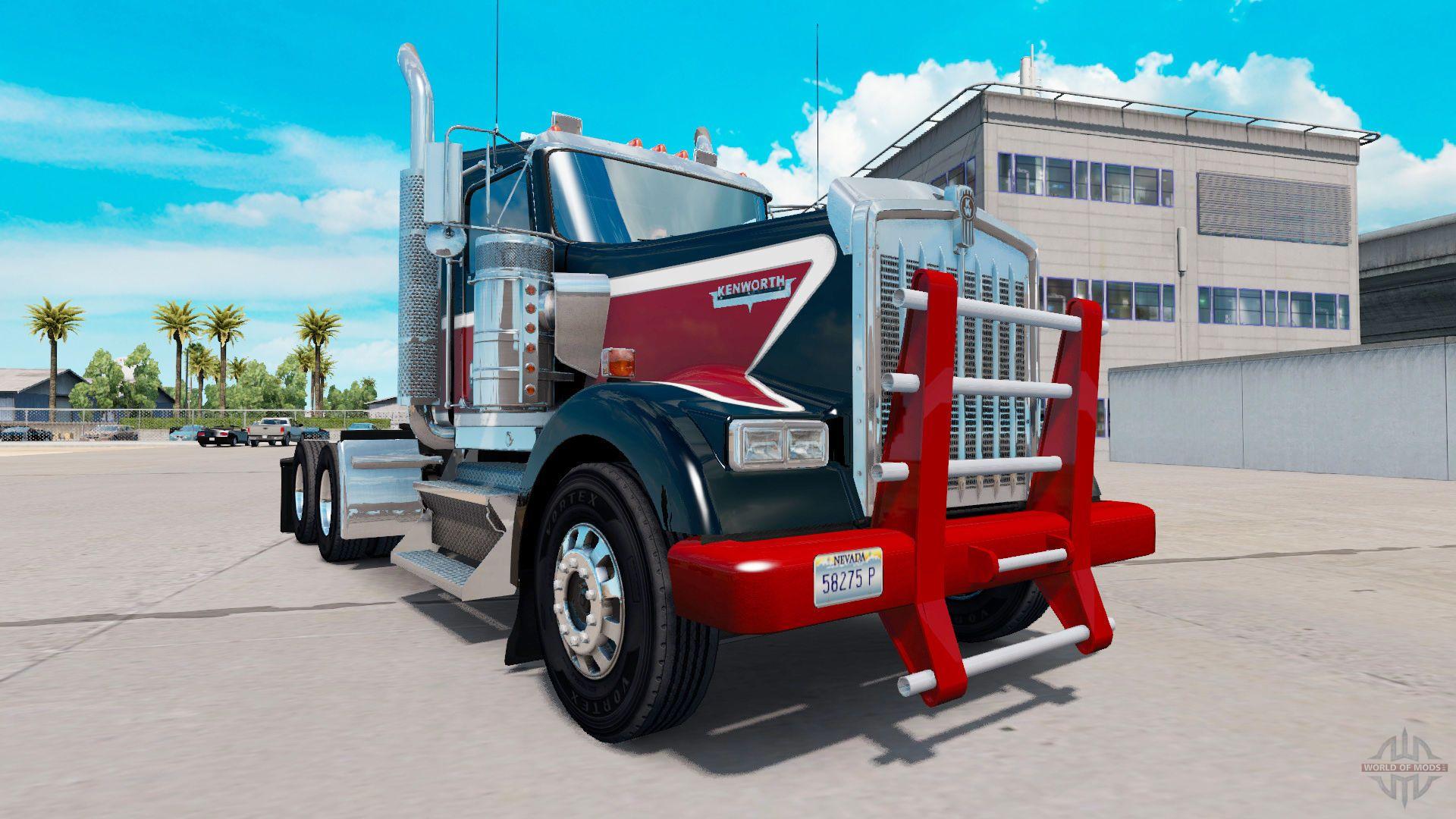 Kenworth W900 Day Cab Heavy Duty American Truck Simulator American Truck Simulator Trucks Kenworth
