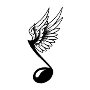 muzieknoot rock n roll pinterest tattoo music tattoos and tatoo rh pinterest com Music Note Icon Single Music Notes