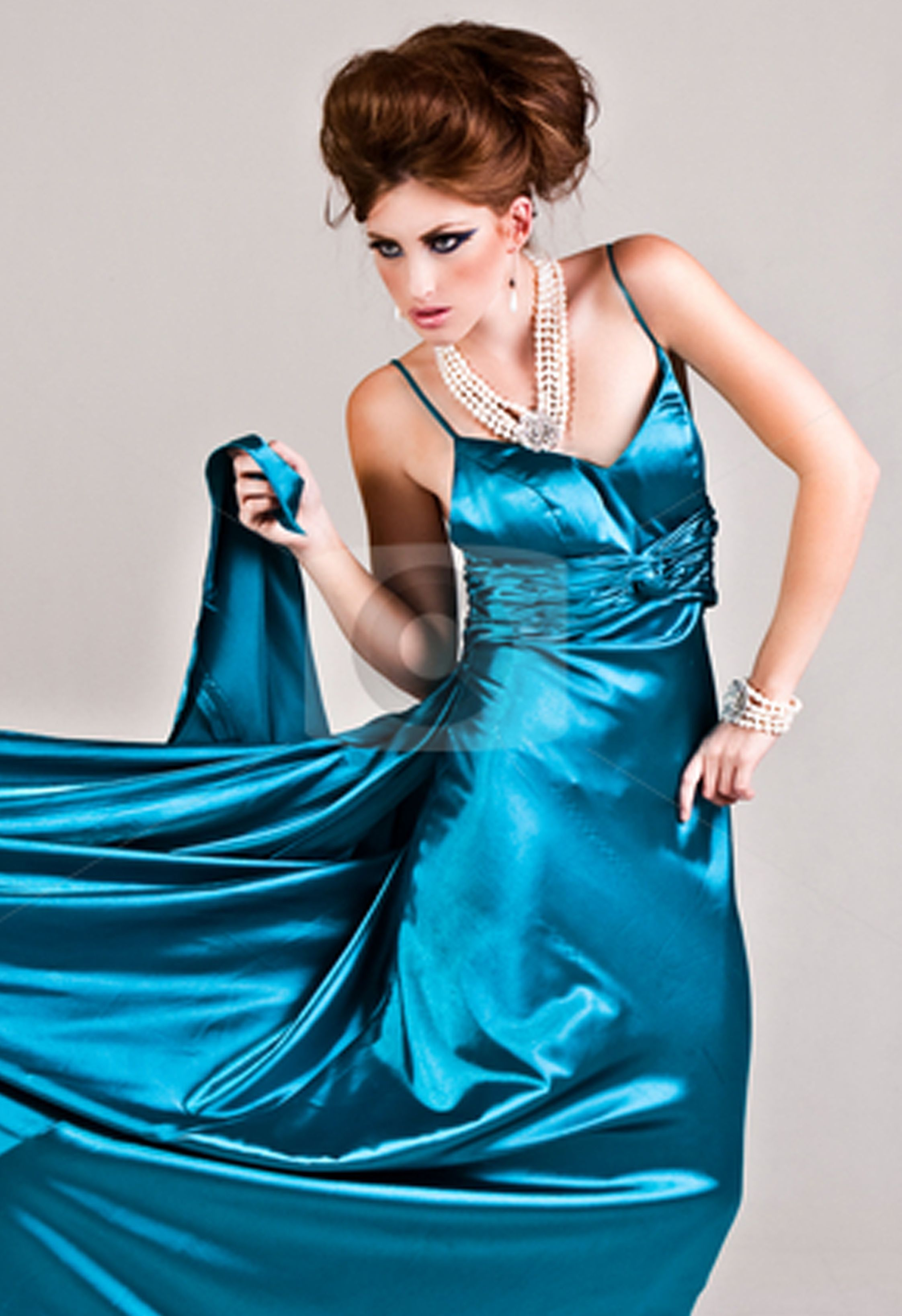 Pin by Bjarne Aarslev Jensen on Satin Party Dress 2 | Pinterest ...