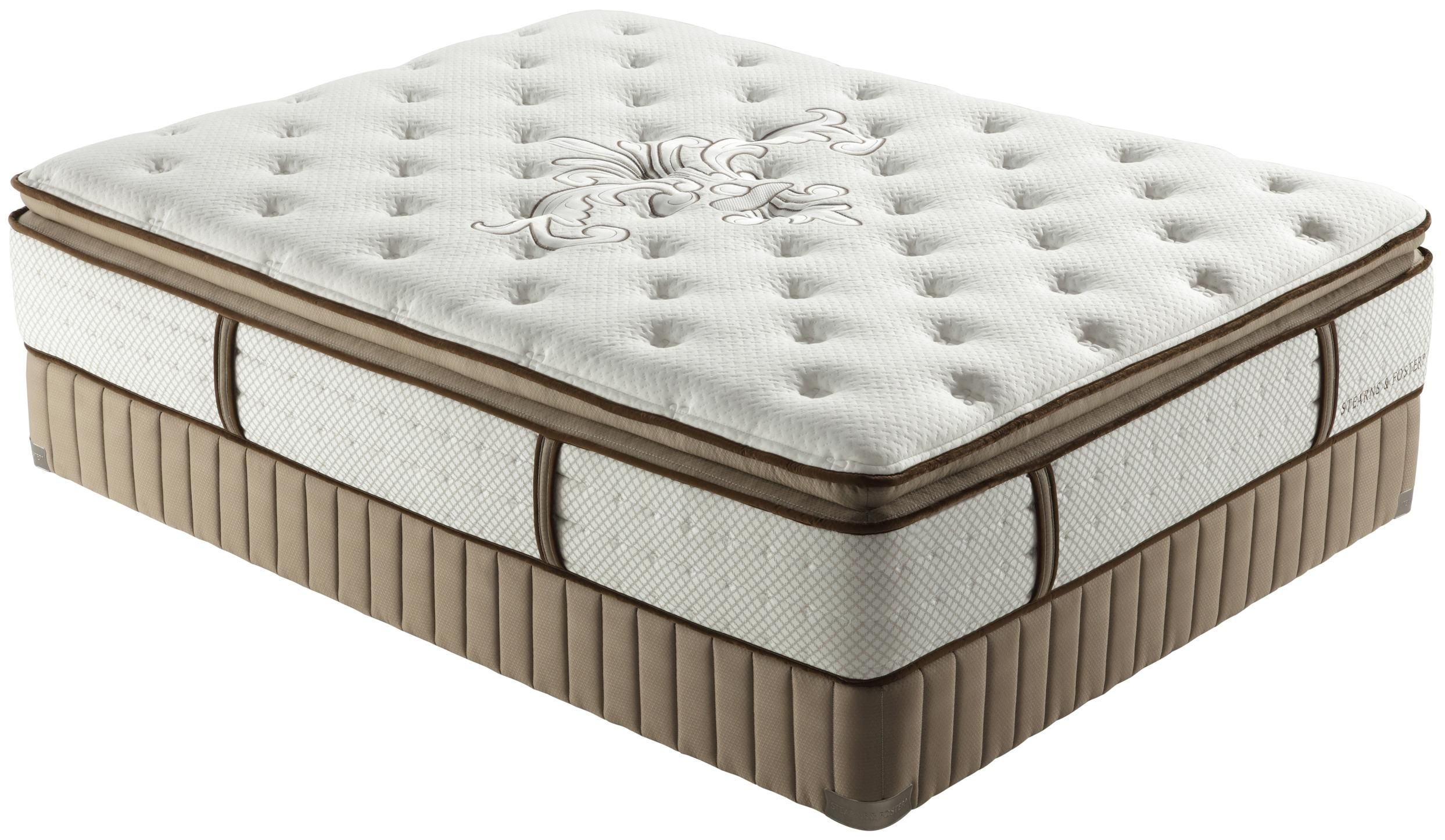 Stearns And Foster Luxury Firm Euro Pillowtop King