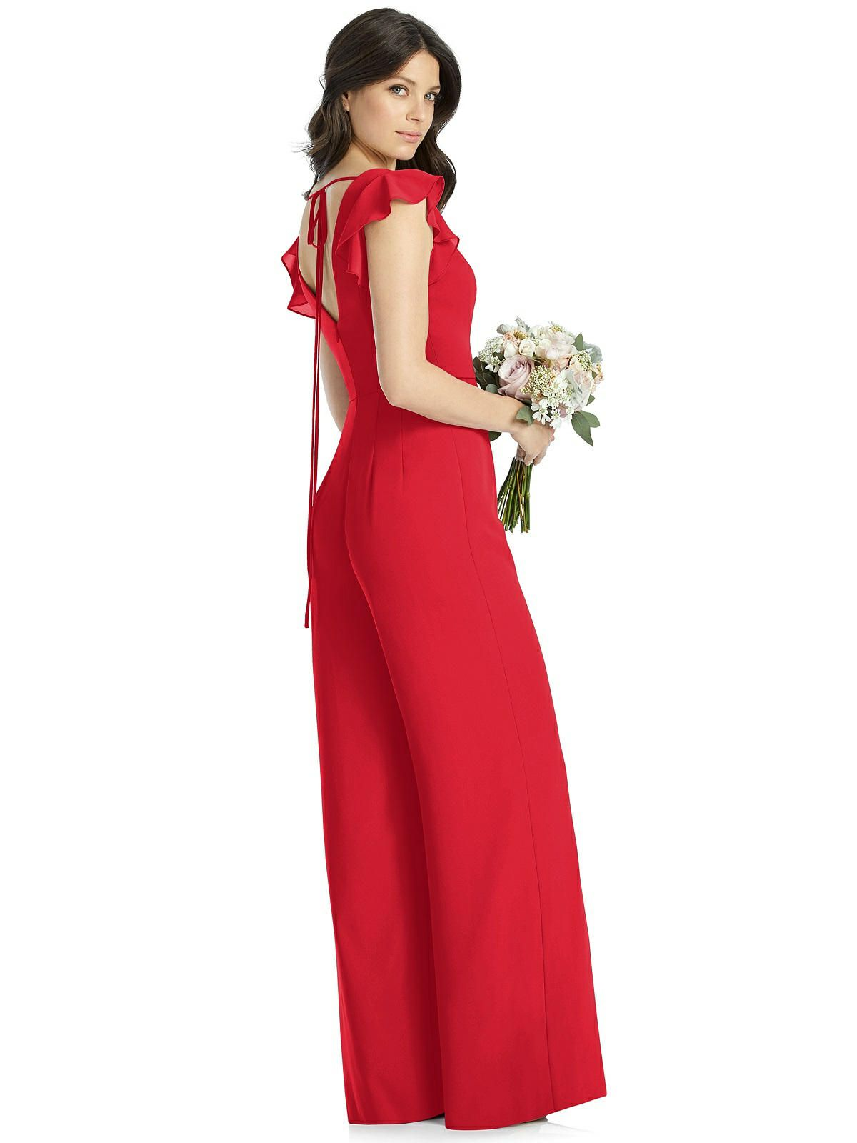 Dessy Bridesmaid Jumpsuit Adelaide #bridesmaidjumpsuits