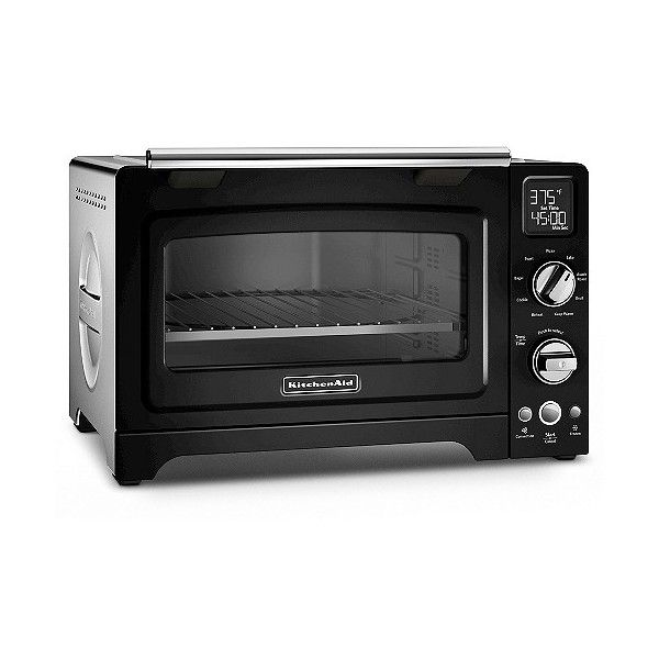 Kitchenaid Convection Digital Countertop Oven Kco275 Black 280 Liked On Polyvore Fe Countertop Oven Countertop Convection Oven Convection Toaster Oven