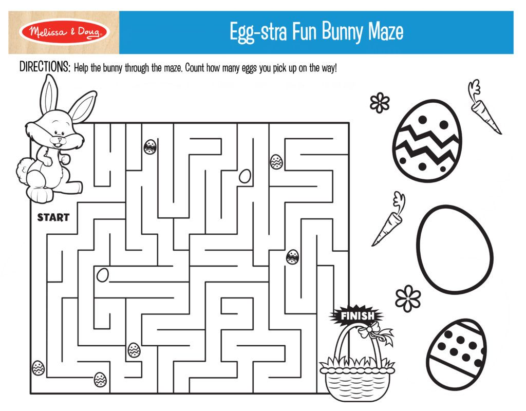 3 Free Printables For Easter Activities