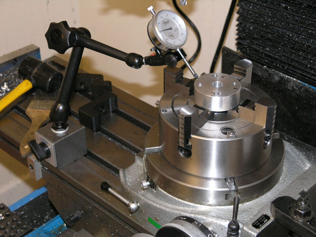 Phase Ii 8 Quot Horizontal Vertical Rotary Table Machining