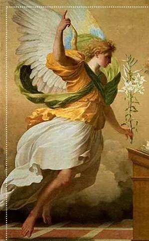Arcangel Gabriel Embajador De Dios Padre Mensajero De La