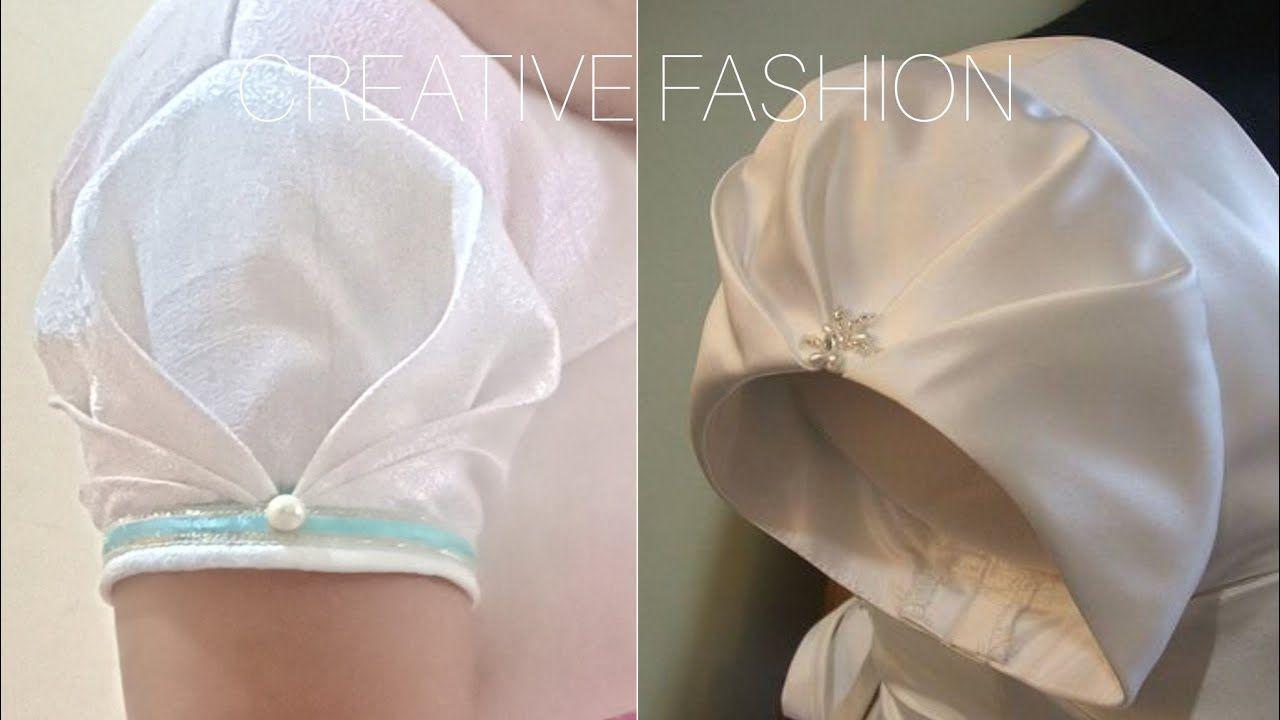 Saree blouse design cutting and stitching very beautiful origami sleeve cuttingstitching हद म