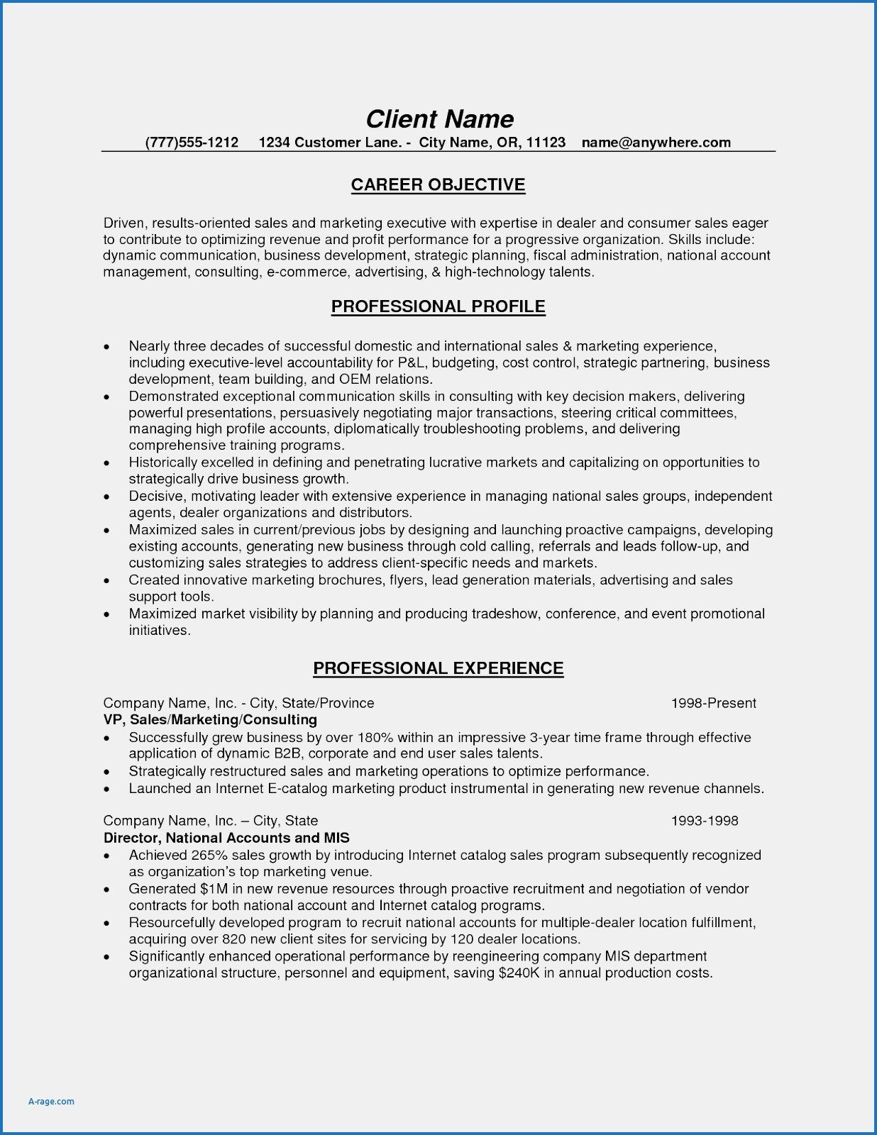 Personal Trainer Client Profile Template Beautiful Ymca Sample Resume Example Objectives