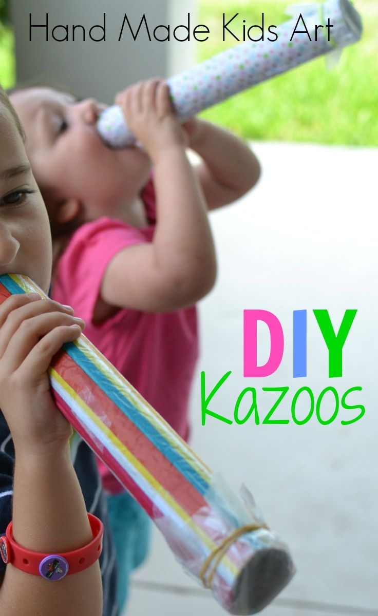 Exploring Sound Making A Kazoo Diy Home Pinterest Homemade