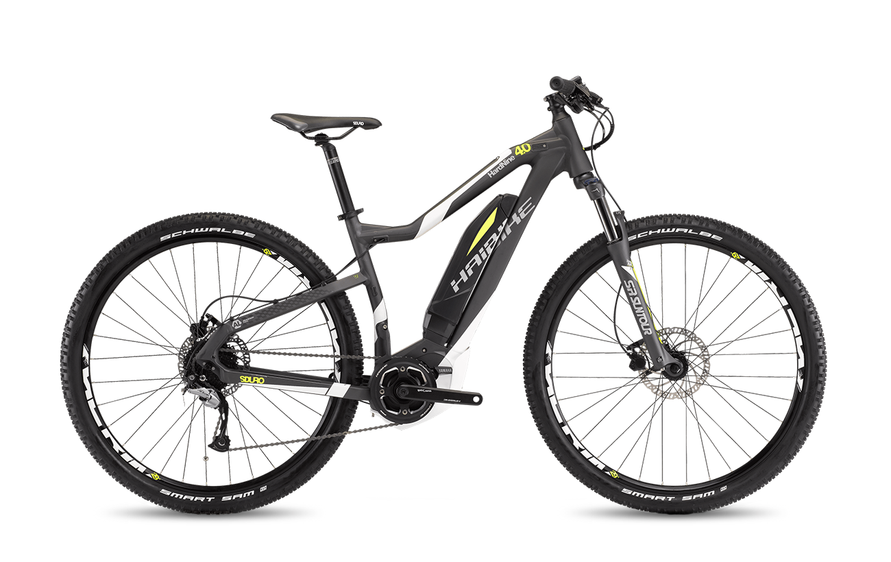 Haibike Sduro Hardnine 4 0 2017 Best Electric Bikes Electric Mountain Bike Electric Bikes Uk