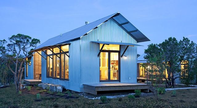 The Vintique Object Corrugated Metal Building Bunkhouse