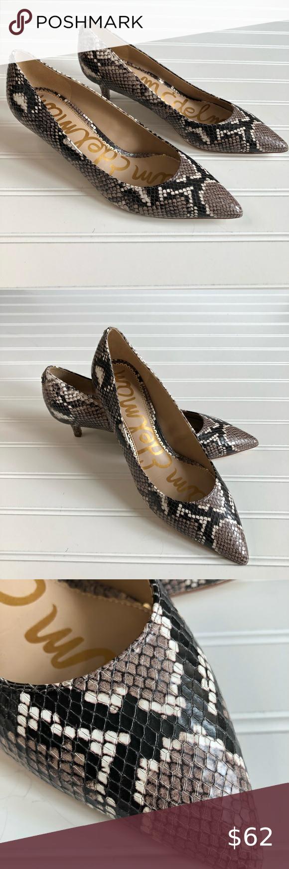 Sam Edelman Nwob Dori Kitten Heel Sz 7 5 In 2020 Kitten Heels Heels Shoes Women Heels