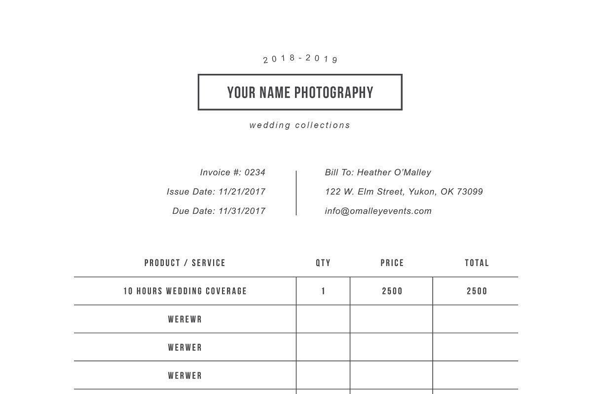 Photography Forms Receipt Template Receipt Template Invoice Template Invoice Design