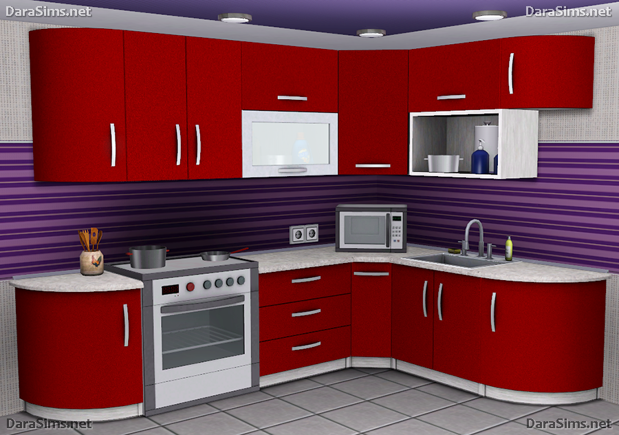 Lana Cc Finds Kitchen Decor Set The Sims 3 By Dara Savelly