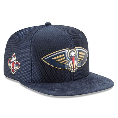 0c7b2098d Men s New Orleans Pelicans New Era Navy 2017 NBA Draft Official On Court  Collection 9FIFTY Snapback Hat