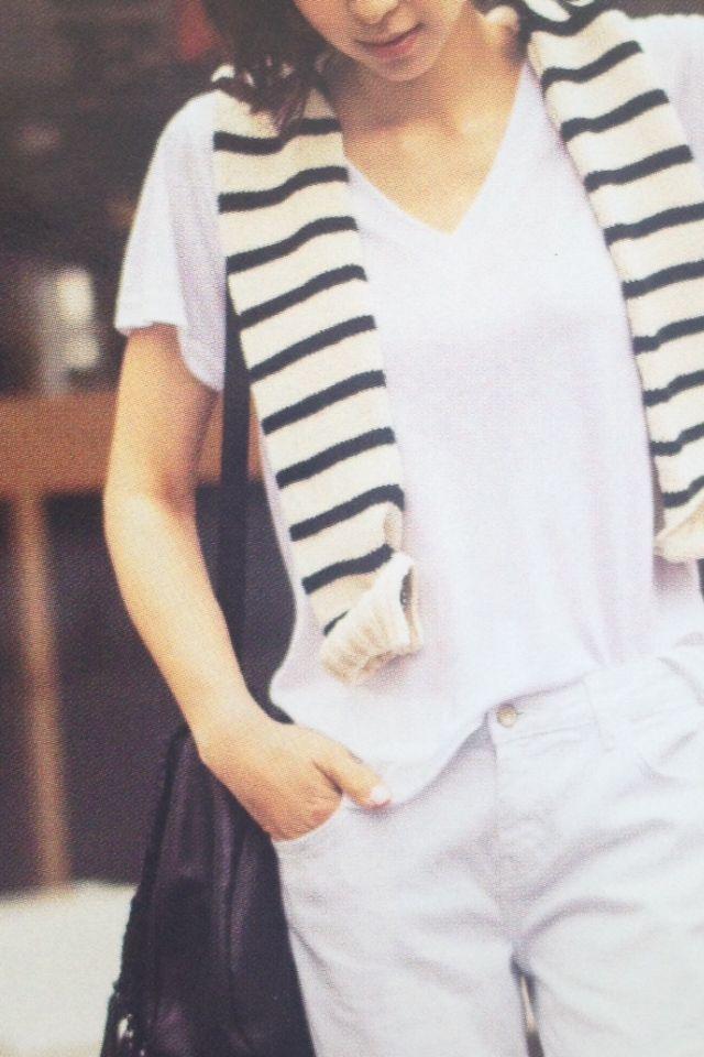 とにかくこれ! 「1枚!白シャツスタイル!」  〜シャツとボディラインの基本〜 http://ameblo.jp/exercisebible/entry-12047111350.html