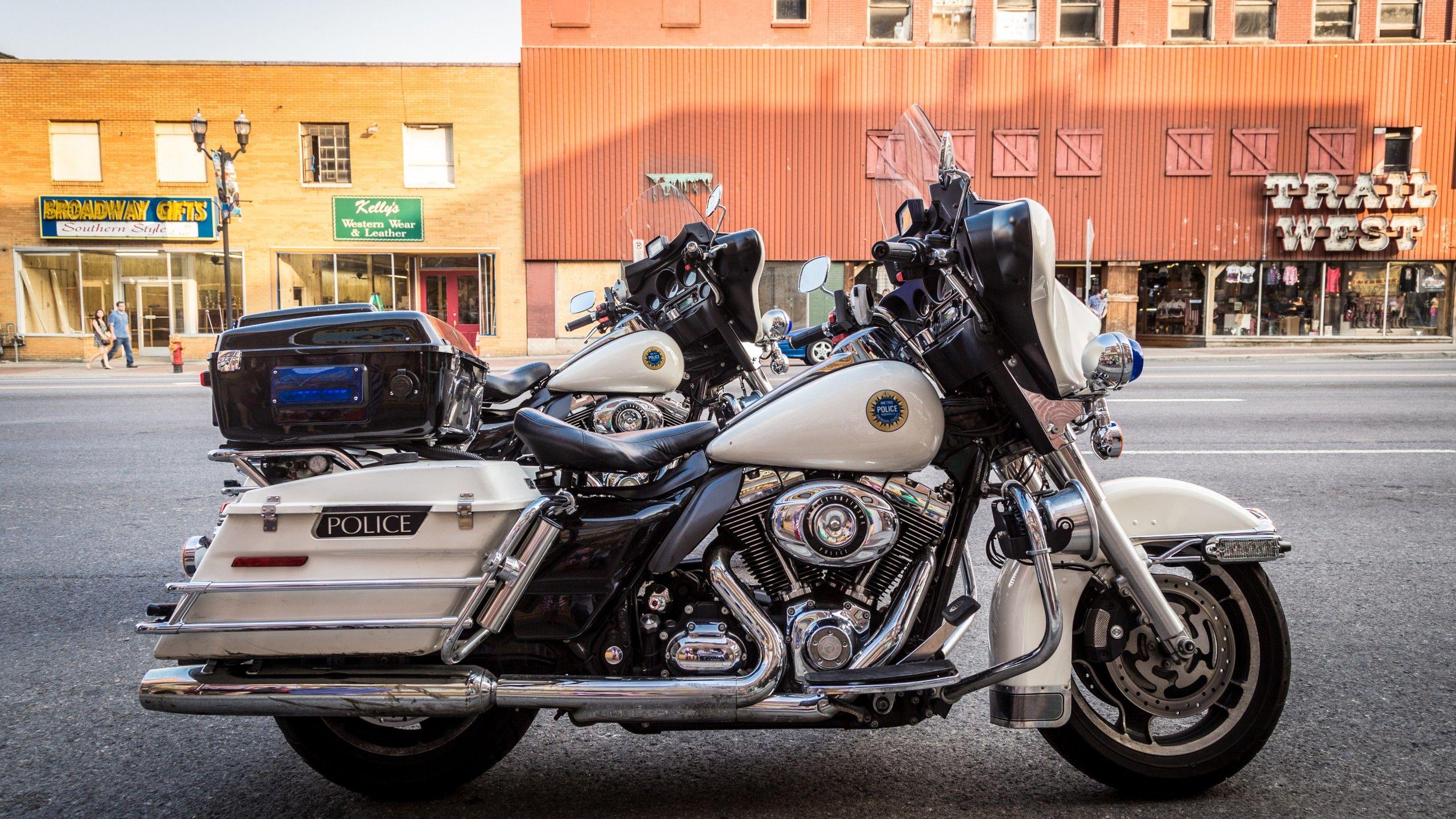 Police Motorcycles Harley Davidson Highway Patrol