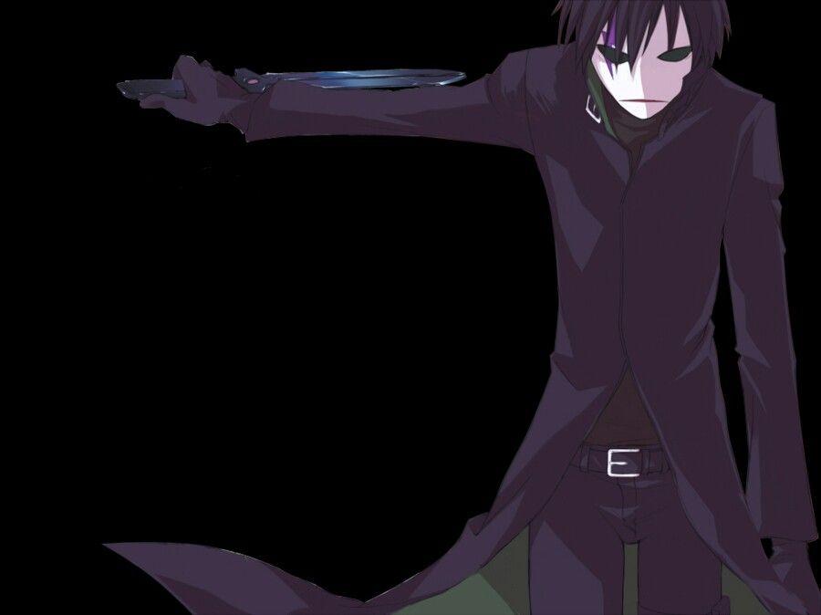Darker than black hei anime black dark