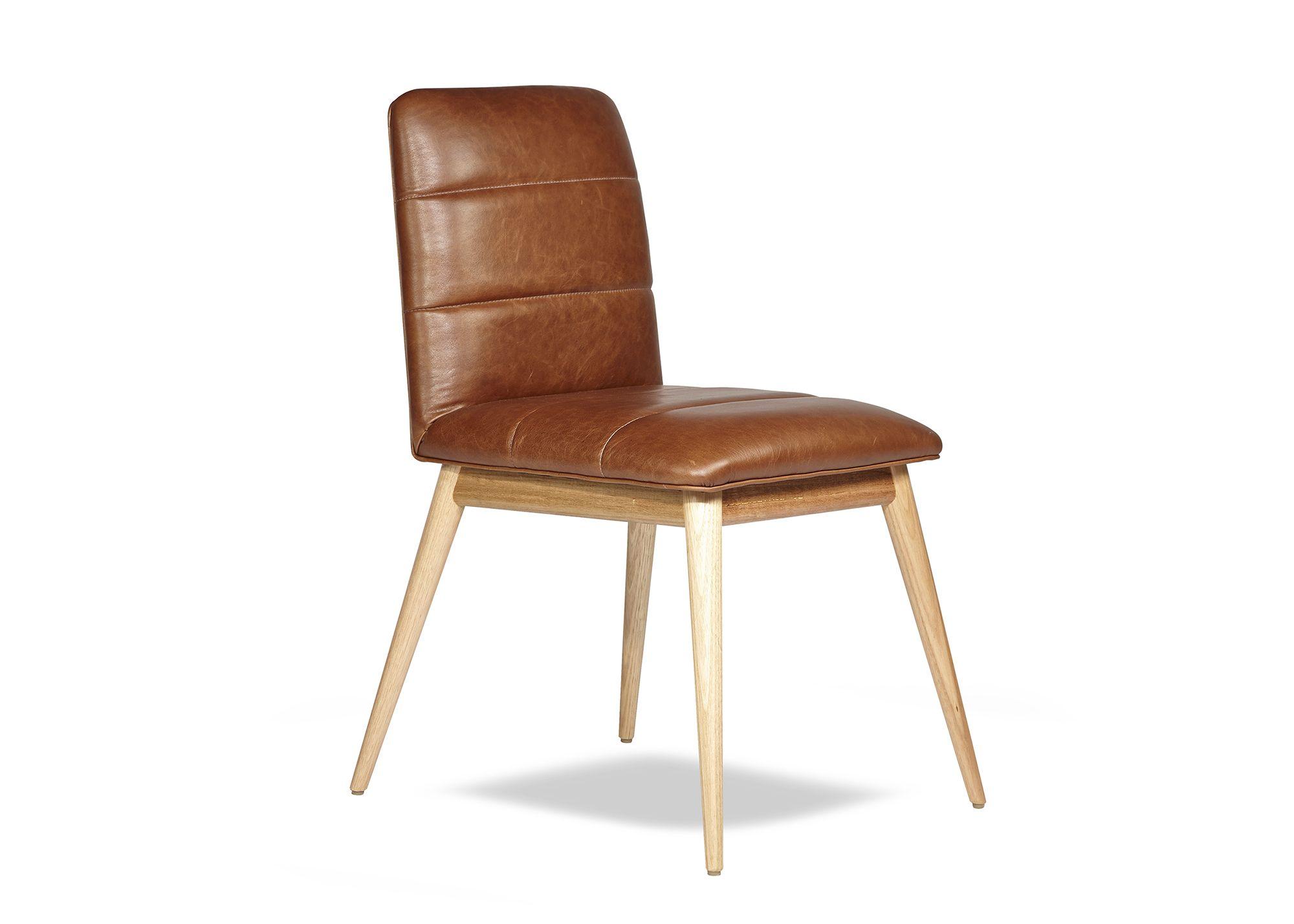 Arthur G Reuben Chair Leather Dining Chair