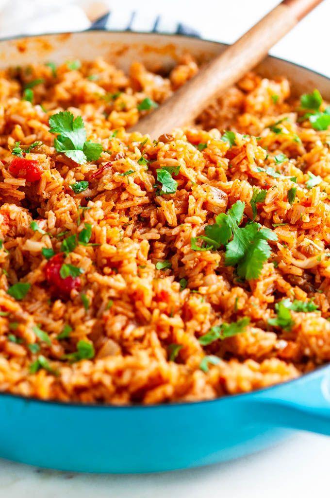 Easy Classic Spanish Rice - Aberdeen's Kitchen
