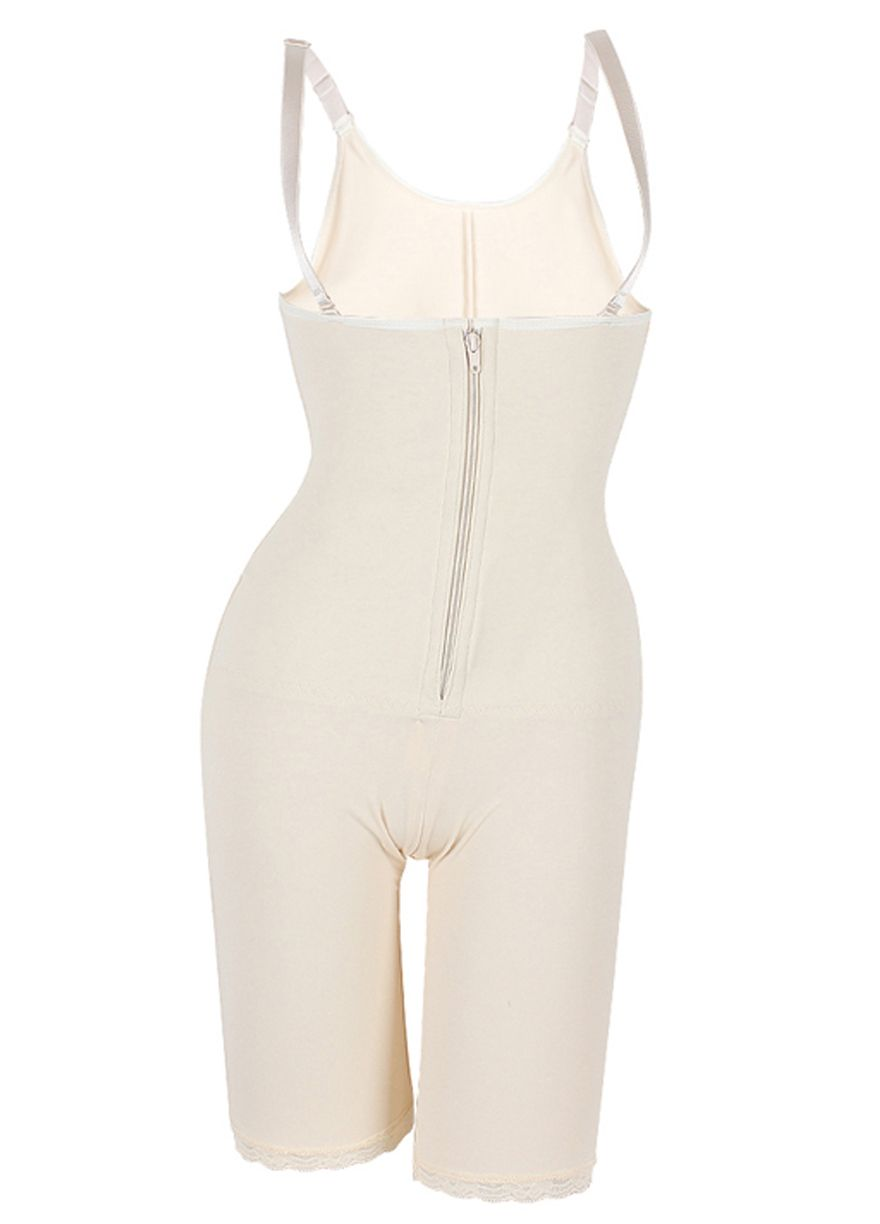 d6bcd6bdb94 Front Zip And Clips Latex Full Body Shaper With Straps Latex  Shaper Shapewear Sexy Lingeire