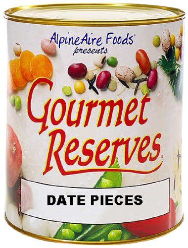 AlpineAire Foods Gourmet Reserves Date Pieces (10-Can) -- For more information, visit now : Camping equipment