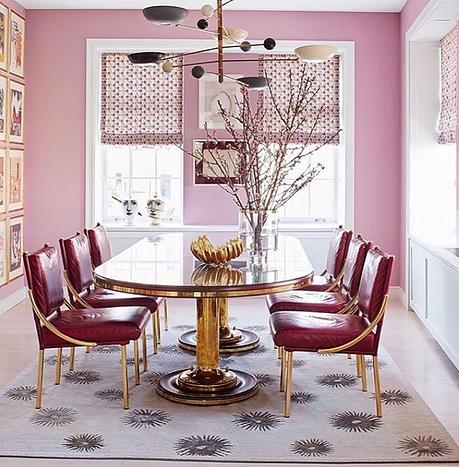 HOT FOR HUE: PINK DINING ROOMS | Interior Designer Long Island | Chez  Lissette