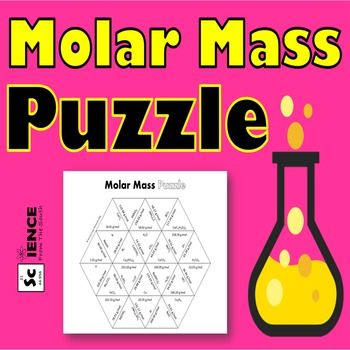 Molar Mass Puzzle for Review or Assessment Students, Chemistry and - copy la tabla periodica moderna pdf