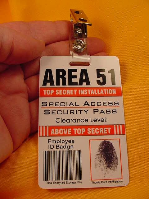 area 51 security