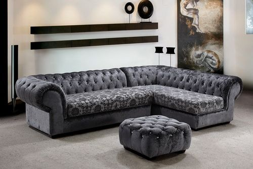 luxury gray sofa designs Gray Sectional Sofa Fifty Shades of grey decor  ideas