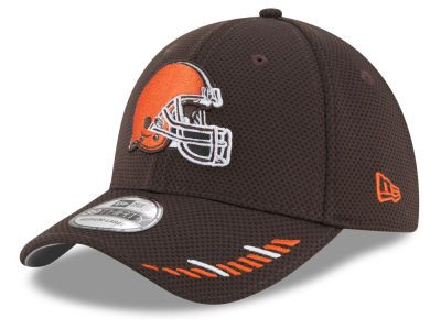 dad672c3d76c1 Cleveland Browns New Era NFL Team Hashmark 39THIRTY Cap