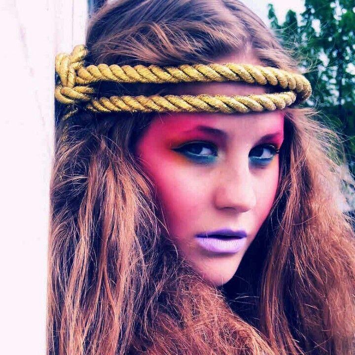 Rockabilly Makeup Photoshoot By Paloma Ortiz: Circus Makeup Photoshoot By Paloma Ortiz (With Images