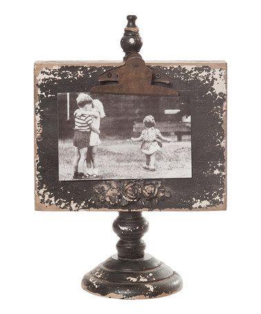 Black Vintage Standing Frame - 8.75\