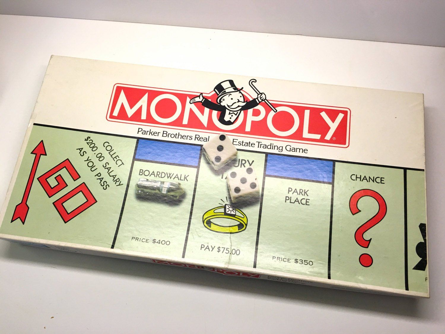 Vintage Monopoly 1980's Edition Parker Brothers Real