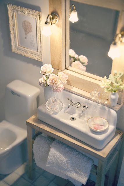 Use a country sink and remove the legs to make this sink--love it  !!!
