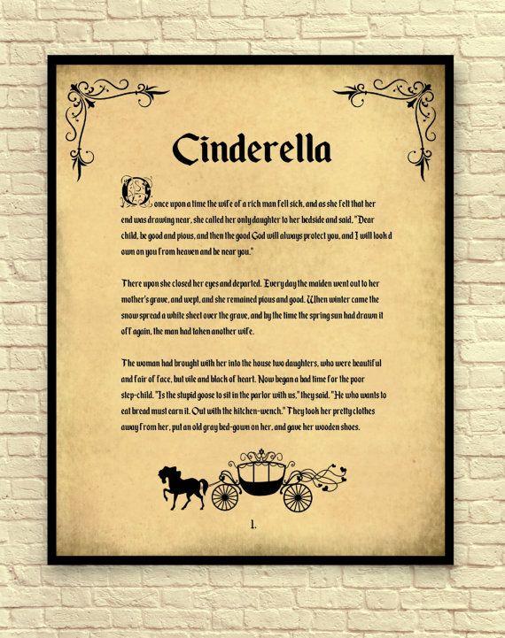 Cinderella Cinderella Art Print Cinderella by CreativeArtandInk ...