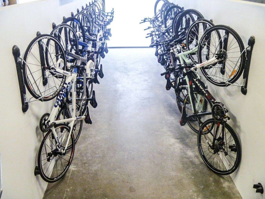 Look jeremy s bicycle rack apartment therapy - The Steadyrack Bike Parking Rack Is The Best Bike Storage Solution When It Comes To Bike
