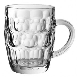 24 Set Dimple beer mug stein old fashioned pint glasses Jar Retro Tankard