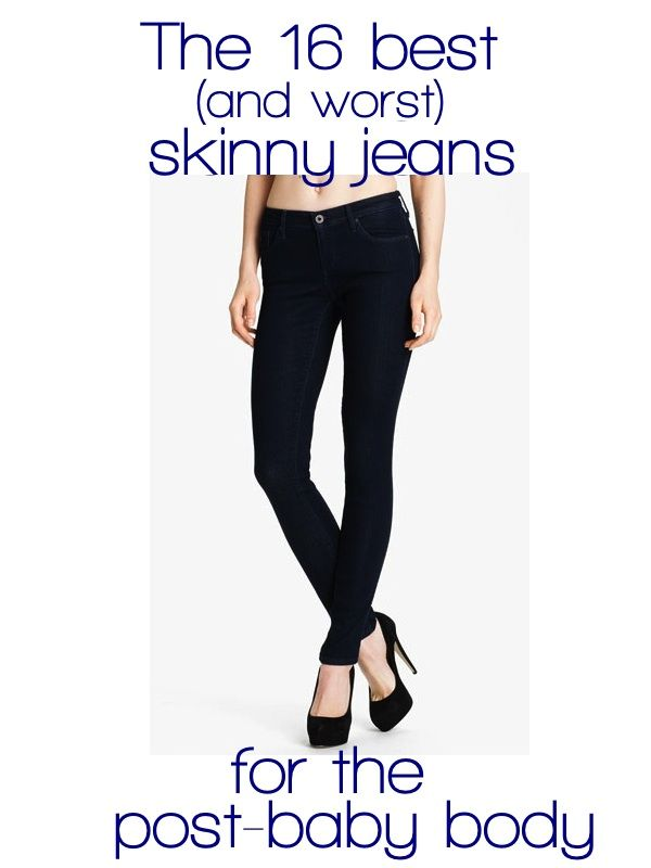 fffe9a70b5a7f Skinny Jeans for the post-baby body | My Style in 2019 | Post baby ...