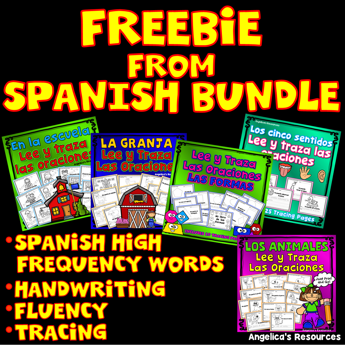 Spanish Distance Learning Spanish Worksheets