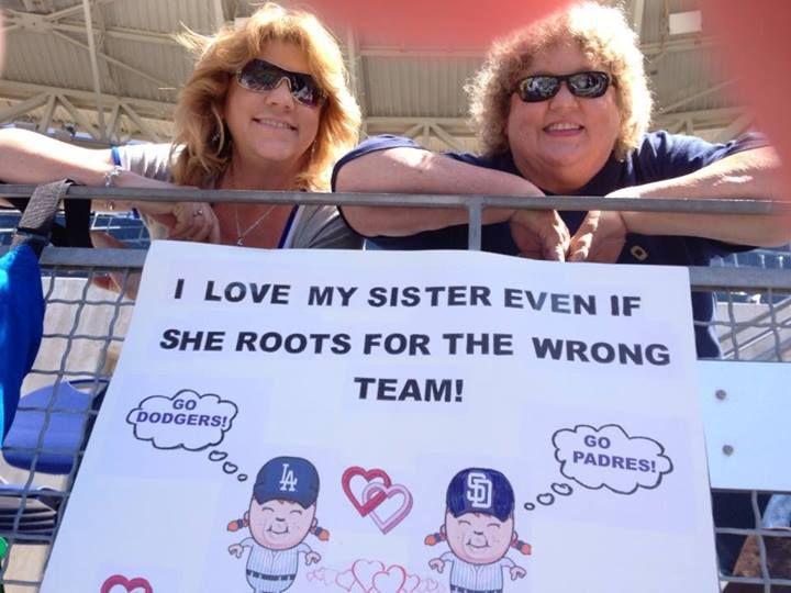 6-22-13  Padres/Dodger Game.