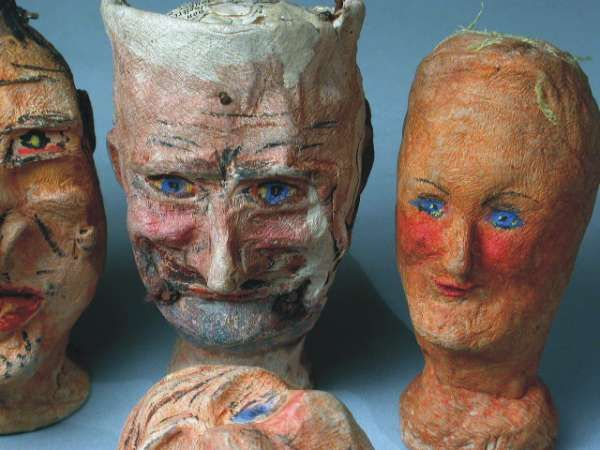 how to make paper mache puppets