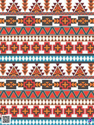 TOLL TROLL AZTEC PRINT