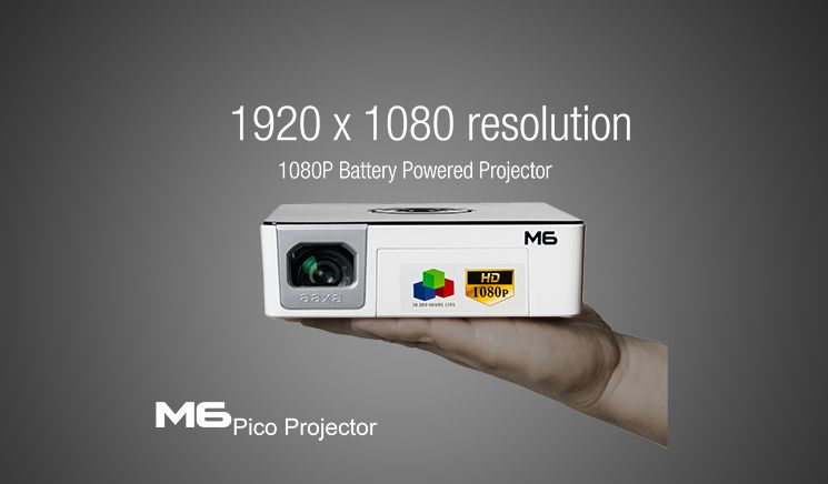 Aaxatech Products M6 Pico Projector