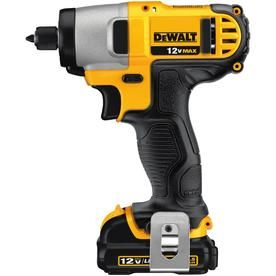Dewalt 12 Volt Max Variable Speed Cordless Impact Driver 2 Battery Dcf815s2 In 2020 Impact Wrench Dewalt Impact Driver