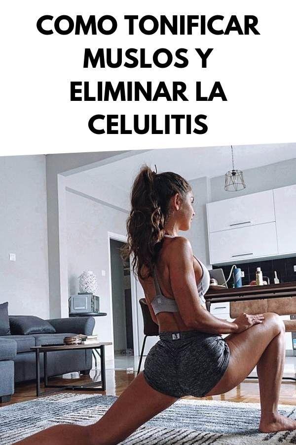 Como tonificar muslos y eliminar la celulitis [RUTINA y TIPS]