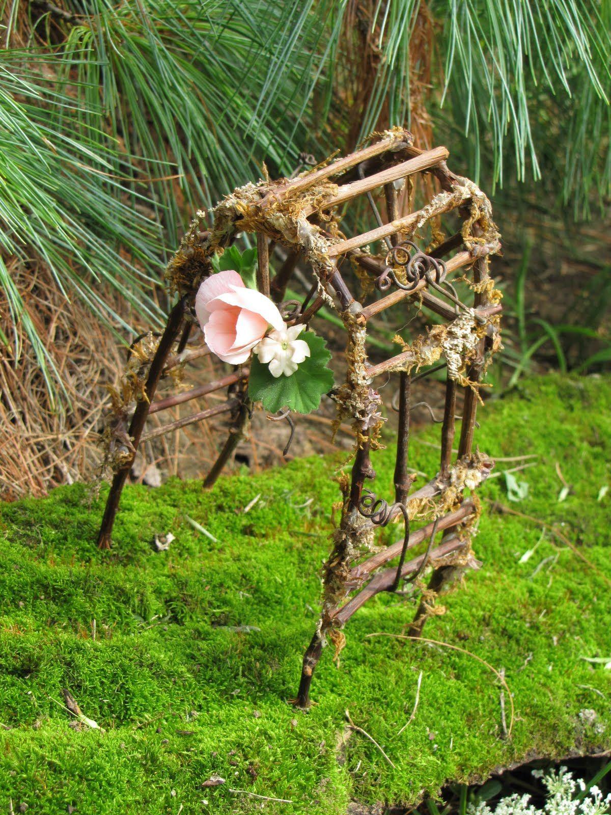 How To Make Fairy Furniture | The Backyard Explorer: Fairy Furniture